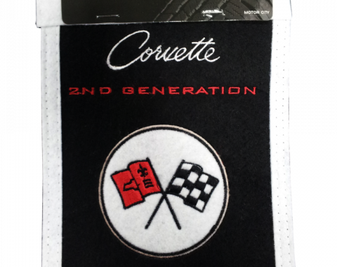 Genuine Wool Blend Mini-Banner with C2 Emblem