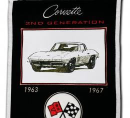 Genuine Wool Blend Banner with C2 Emblem and Image