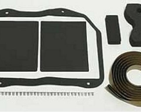 Corvette Heater Box Seal Kit, Without Air Conditioning, 1968-1979