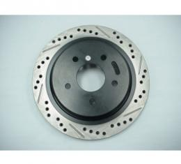 Corvette Brake Rotor, Left, Rear, High Performance, 1997-2004