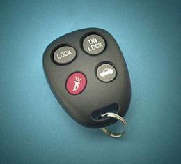Corvette Remote Keyless Transmitter, 2000