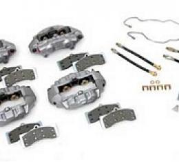 Corvette Brake Overhaul Kit, with New O-Ring Calipers, 1965-1982