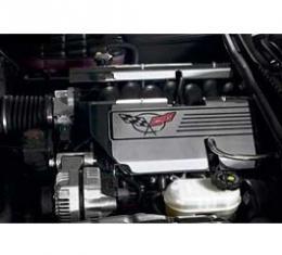"""Corvette """"Show Time"""" Fuel Rail Covers, 1999-2004"""