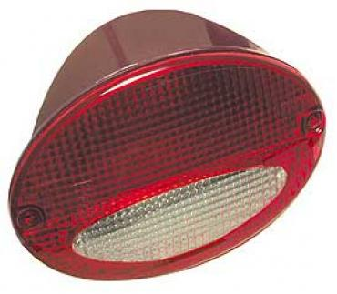 Corvette European Taillight, With Red/Clear Lens, Right, 1997-2004