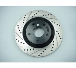 Stoptech Corvette Brake Rotor, Right, Front, High Performance, 1997-2004