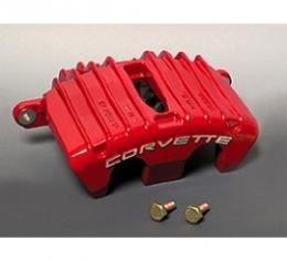 Corvette Brake Caliper, AC Delco, Z06, Right Front, Red, 1997-2004