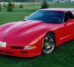 Corvette Hood, Hi-Rise Cowl Induction, 1997-2004