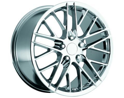 "Corvette Wheel, C6 ZR1, Chrome, 18"" x 9.5"", +40 Offset, 1988-2013"