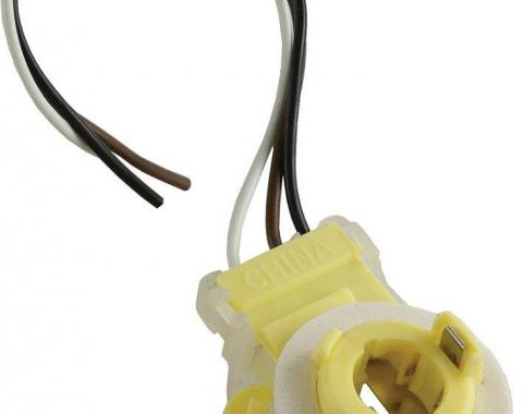 Corvette Taillight/Parking/Turn Signal Light Socket, 1976-1996