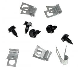 Corvette Fuel Line Clips, 10 Piece, 1974-1982