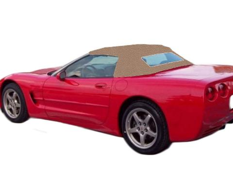 Kee Auto Top CD1092WC03SF Convertible Top - Beige, Cloth, Direct Fit