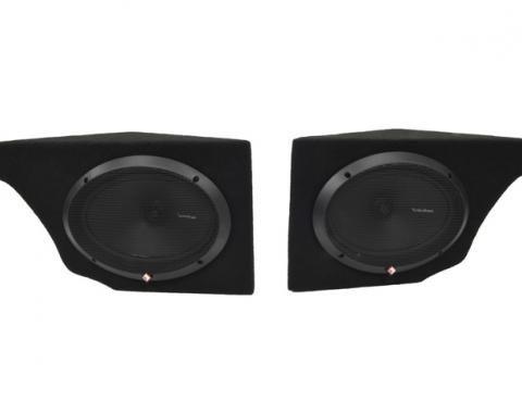 Corvette Audiophile Plus Speaker System, with Speakers, 1968-1977