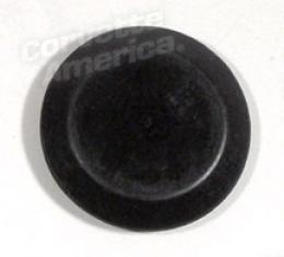Corvette Headlight Adjuster Hole Plug, First Design, 1.3 Inches, 1997