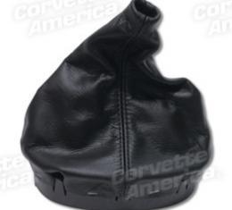 Corvette Shift Boot, Automatic, Black, 1997-2004
