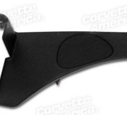Corvette Rear Speaker Panel, Convertible Right, 1998-2004