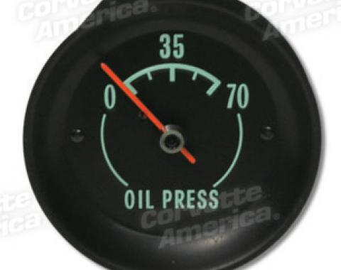 Corvette Oil Gauge, 1968-1971