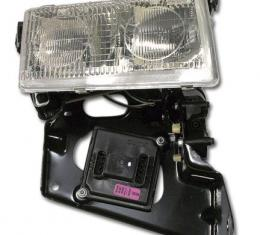 Corvette Headlight Assembly, without Actuator, Right USED, 1997-2004