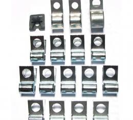 Right Stuff 66 All Cars - Brake Fuel Clip Set VCS6601