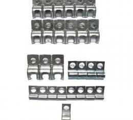 Right Stuff 74 - 82 All Cars - Brake Fuel Clip Set; 28 Pcs. VCS7401