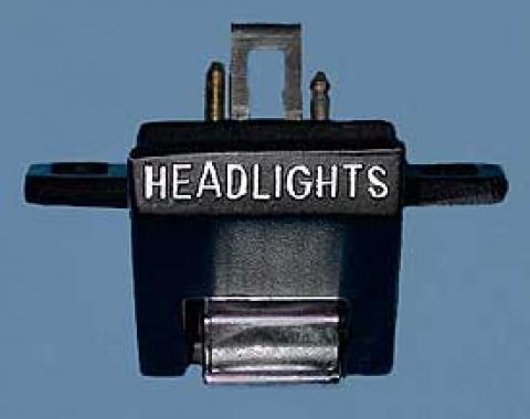 Corvette Headlight Open Control Switch, 1963-1967