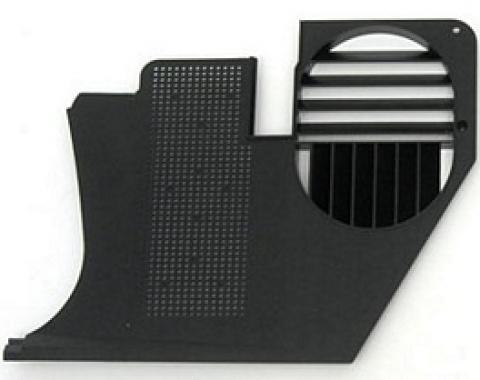 Corvette Kick Panel, Left, Black Paint to Match, 1968-1977