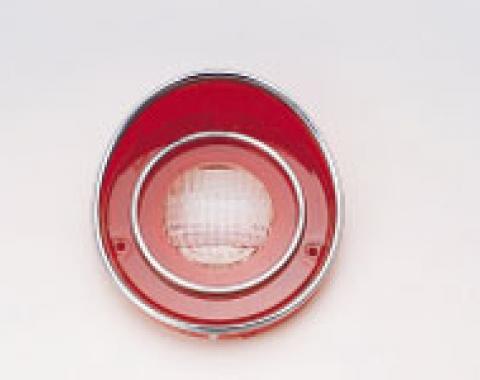 Corvette Back-Up Light Lens, Late 1971-1973