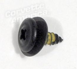 Corvette Convertible Front Latch Bracket Screw, 1986-1988