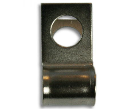 "Brake & Fuel Line Clamp, 1/4"" Line Clip 1/4"" Bolt Hole"