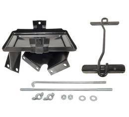 Corvette Battery Tray Kit, with Air Conditioning & 65 396, 1963-1967
