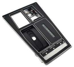Corvette Shift Console Plate, Auto With Air Conditioning, 1970-1971