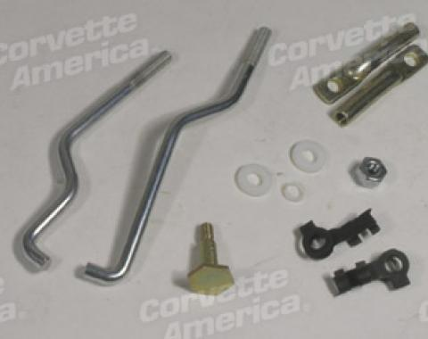 Corvette Carburetor Linkage Set, 3X2, 1968-1969