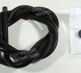 Corvette Washer Hose Set, with Air Conditioning or 396, 1963-1967