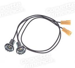 Corvette Harness, Idle Stop Solenoid Extension With Air Conditioning, 1968