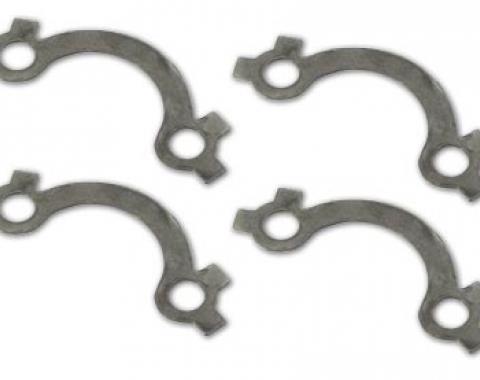Corvette Exhaust Manifold Lock Set, Stainless Steel, 327, 1964-1965