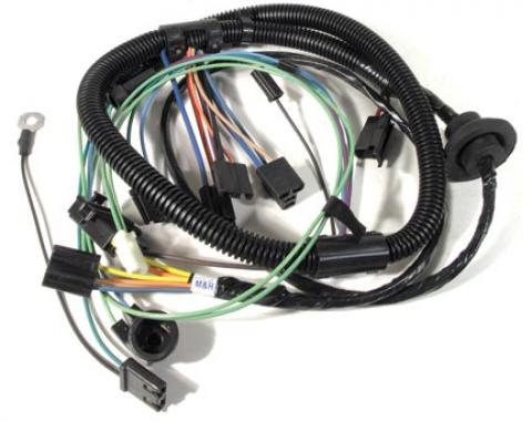 Corvette Harness, Air Conditioning with Heater Wiring Late, 1977