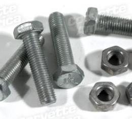 "Corvette Tie Rod End Clamp Bolt Kit, ""TR"", 1953-1982"