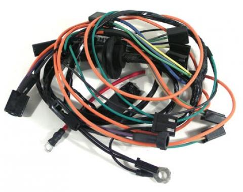 Corvette Harness, Air Conditioning with Heater Wiring, 1972-1973