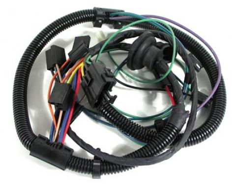 Corvette Harness, Air Conditioning with Heater Wiring, without Auxilliary Fan, 1979