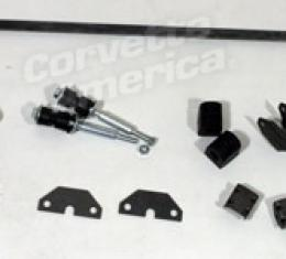 Corvette Rear Stabilizer Bar Kit, Complete, 1960-1962
