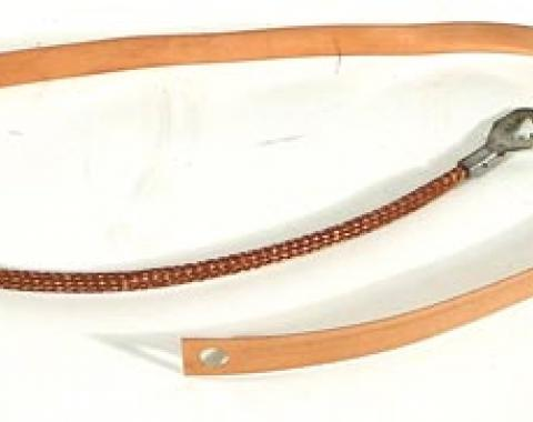 Corvette Ground Strap Kit, Standard Exhaust, 1973-1975