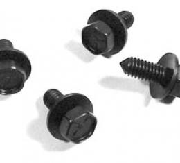 Corvette Decklid Release Mechanism Screw Set, 1963-1975