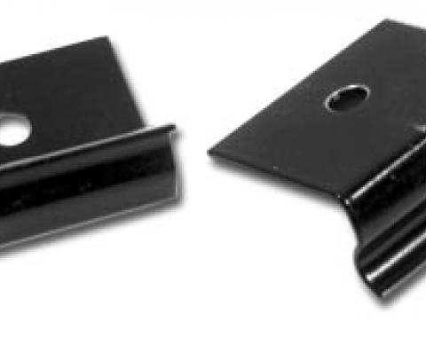 Corvette Radio Side Panel Support Clips, 1964-1967