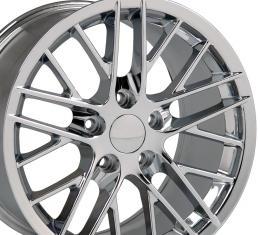 "17"" Fits Chevrolet - C6 ZR1 Wheel - Chrome 17x9.5"