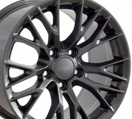 "18"" Fits Chevrolet - C7 Z06 Wheel - Gunmetal 18x8.5"