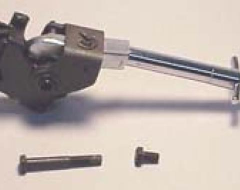Corvette Shifter, 4-Speed Transmission, With Black Chrome Knob, 1969-1976