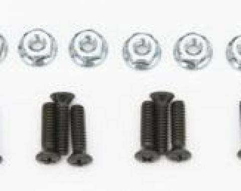 Corvette Rocker Panel Molding Screws, 1970-1982