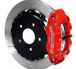Wilwood Brakes Forged Narrow Superlite 4R Big Brake Rear Brake Kit For OE Parking Brake 140-8032-R