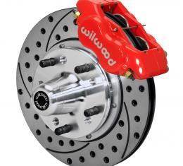 Wilwood Brakes Forged Dynalite Pro Series Front Brake Kit 140-11811-DR