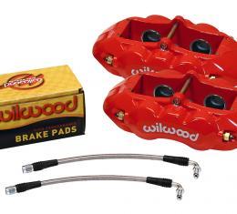Wilwood Brakes 1965-1982 Chevrolet Corvette D8-4 Rear Replacement Caliper Kit 140-10790-R