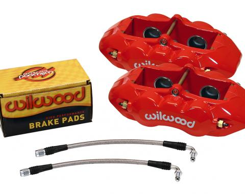 Wilwood Brakes 1965-1982 Chevrolet Corvette D8-4 Rear Replacement Caliper Kit 140-10790-R